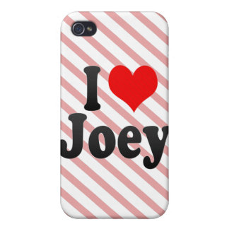 I love Joey Covers For iPhone 4