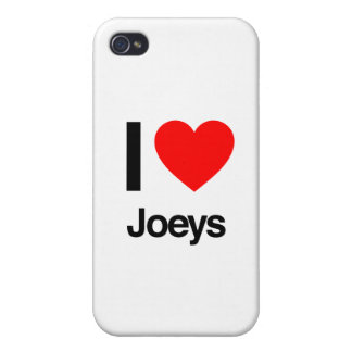 i love joeys iPhone 4/4S case