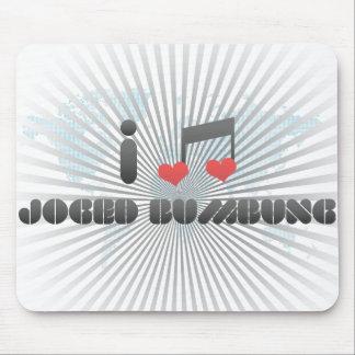 I Love Joged Bumbung Mousepad