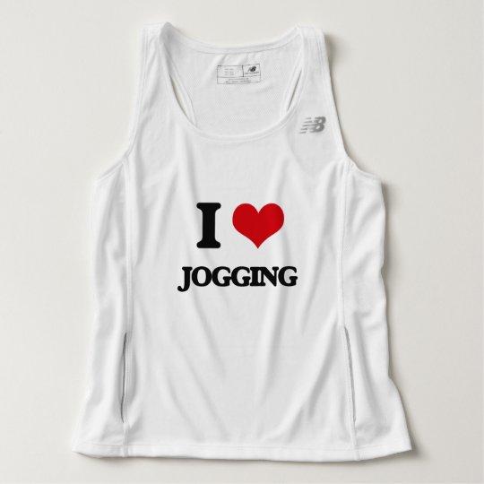 I Love Jogging Tank Top