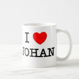 I Love Johan Coffee Mug