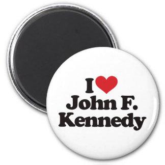 I Love John F Kennedy Magnet