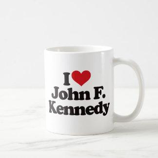 I Love John F Kennedy Mugs