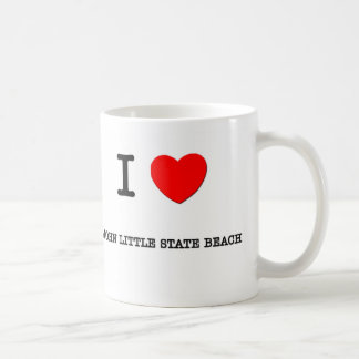 I Love John Little State Beach California Coffee Mug