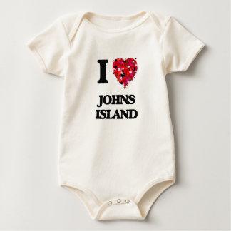 I love Johns Island Washington Bodysuit