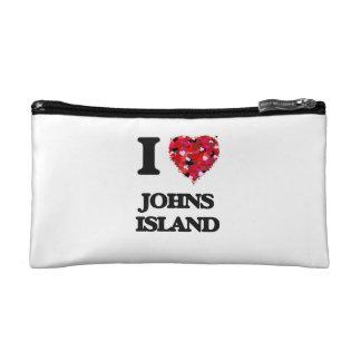 I love Johns Island Washington Cosmetic Bags