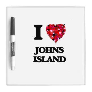 I love Johns Island Washington Dry Erase Board