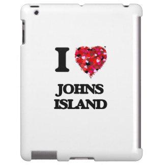 I love Johns Island Washington iPad Case