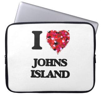 I love Johns Island Washington Laptop Sleeves