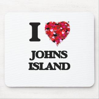 I love Johns Island Washington Mouse Pad