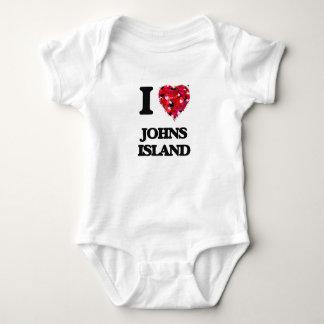 I love Johns Island Washington T Shirts