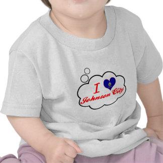 I Love Johnson City Kansas Tee Shirts