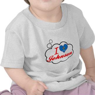 I Love Johnson, Oklahoma T Shirts