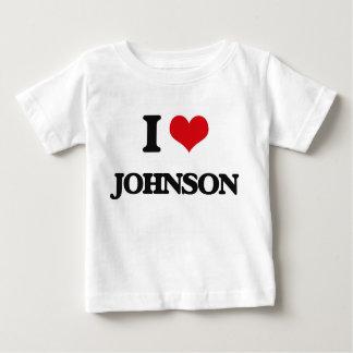 I Love Johnson T-shirt
