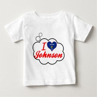 I Love Johnson, Wisconsin T Shirts