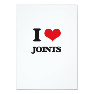 "I Love Joints 5"" X 7"" Invitation Card"