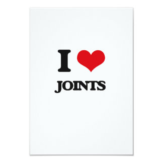 I Love Joints Customized Announcement Card