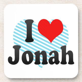 I love Jonah Beverage Coaster