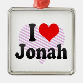 I love Jonah Christmas Tree Ornament