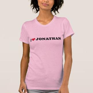 I LOVE JONATHAN T-SHIRTS