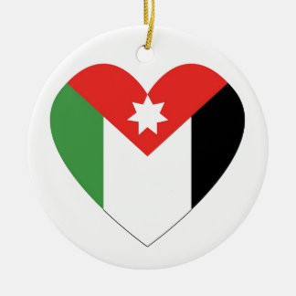 I Love Jordan Christmas Ornament