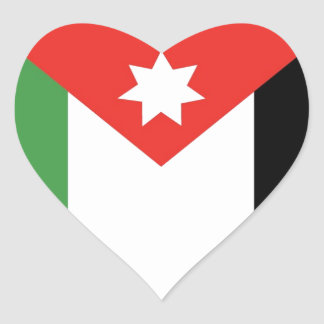 I Love Jordan Heart Sticker