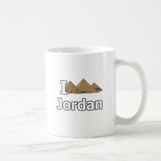 I love jordan tourist fail basic white mug