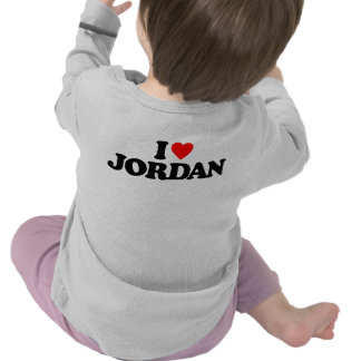 I LOVE JORDAN TSHIRTS