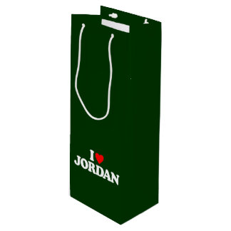I LOVE JORDAN WINE GIFT BAG