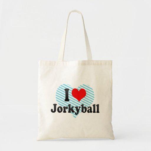 I love Jorkyball Bags
