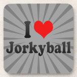 I love Jorkyball Beverage Coasters