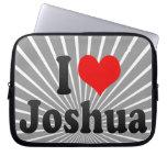 I love Joshua Computer Sleeve