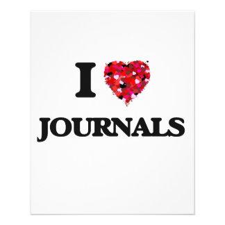 I Love Journals 11.5 Cm X 14 Cm Flyer