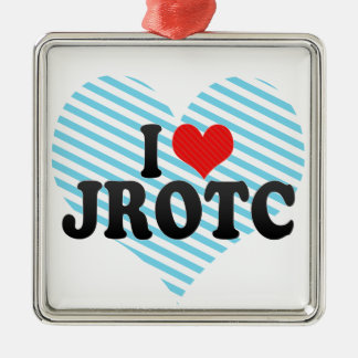 I Love JROTC Christmas Ornament