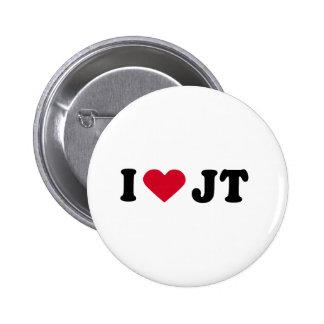 I LOVE JT PIN