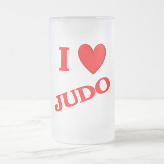 I Love Judo Coffee Mugs