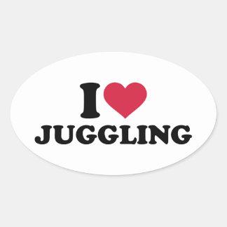 I love Juggling Stickers