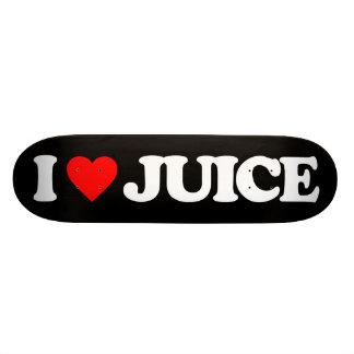 I LOVE JUICE SKATE BOARD