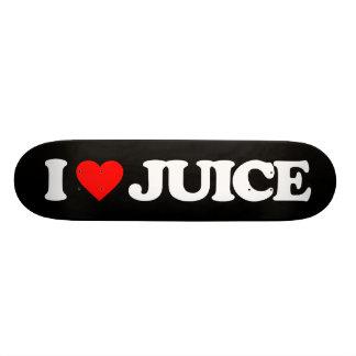 I LOVE JUICE SKATE BOARD DECKS