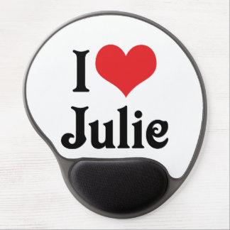 I Love Julie Gel Mouse Pad