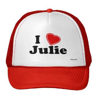 I Love Julie Mesh Hats