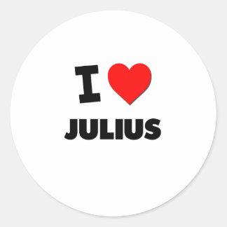 I love Julius Stickers