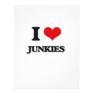 I Love Junkies Flyers