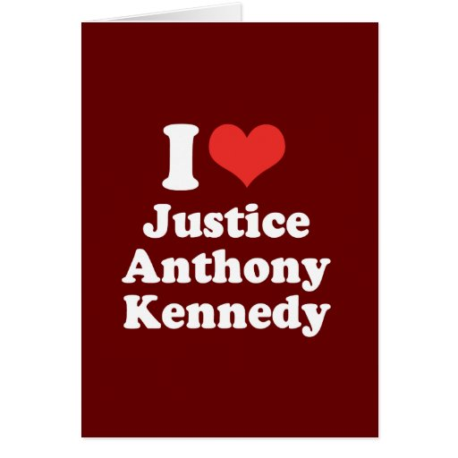 I LOVE JUSTICE ANTHONY KENN - .png Card