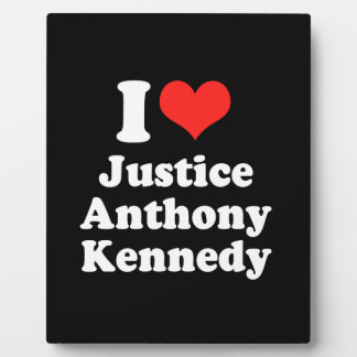 I LOVE JUSTICE ANTHONY KENN png Photo Plaques