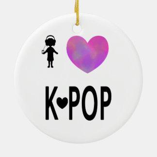 I love K-pop Christmas Ornament