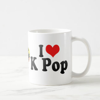 I Love K Pop Coffee Mug