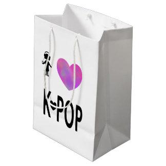 I love K-pop Medium Gift Bag