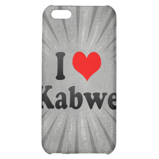 I Love Kabwe, Zambia Case For iPhone 5C