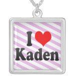 I love Kaden Custom Necklace